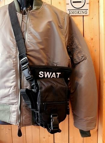 SWATショルダーバッグ レッグポーチ アメリカ雑貨屋 サンブリッヂ SUNBRIDGE 岩手雑貨屋 アメリカ雑貨通販