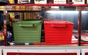 マーキュリースチールコンテナボックス MERCURY収納ボックス アメリカン収納ケース アメリカ雑貨屋 SUNBRIDGE 岩手アメリカン雑貨 矢巾