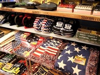 星条旗ラグマット アメリカマット アメリカカーペット アメリカ雑貨屋 サンブリッヂ SUNBRIDGE 岩手雑貨屋 アメリカ雑貨通