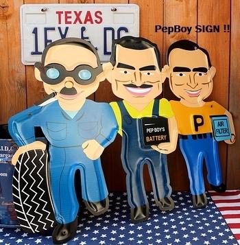 ペップボーイ看板 ペップボーイ雑貨 PEPBOYS アメリカ雑貨屋 サンブリッヂ SUNBRIDGE 岩手雑貨屋 アメリカ雑貨通販