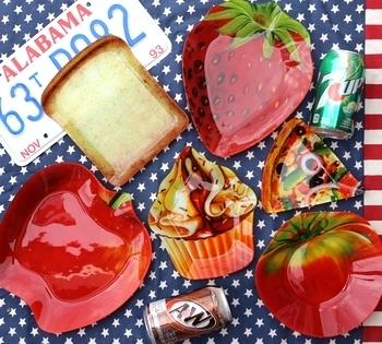 ダルトン皿 いちご皿ダルトン  アメリカ雑貨屋 サンブリッヂ SUNBRIDGE 岩手雑貨屋 アメリカ雑貨通販