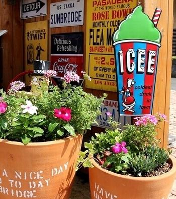 アイシーカップ看板 ICEE アイシーサインプレート2019 アメリカ雑貨屋 SUNBRIDGE 岩手雑貨 サンブリッヂ