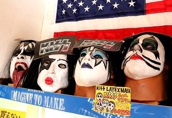 KISSの壁掛け キッス盛岡 KISS来日盛岡 アメリカ雑貨屋 サンブリッヂ SUNBRIDGE 岩手雑貨屋 アメリカ雑貨通販