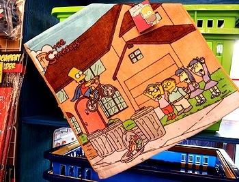 シンプソンズタオル アメリカ雑貨屋 サンブリッヂ SUNBRIDGE 岩手雑貨屋 アメリカ雑貨通販