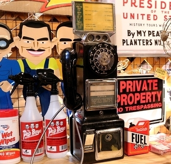 アメリカ電話機 ビンテージ電話 パブリックフォン アメリカ雑貨屋 サンブリッヂ SUNBRIDGE 岩手雑貨屋 アメリカ雑貨通販