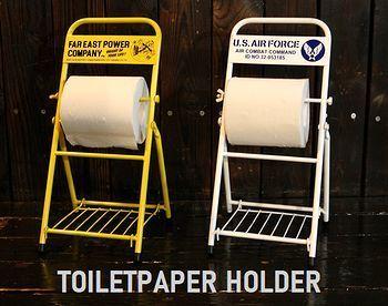 トイレットペーパーホルダー ペーパーホルダー アメリカ雑貨屋 サンブリッヂ SUNBRIDGE 岩手雑貨屋