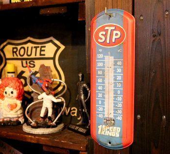 STPサーモメーター 温度計 アメリカ雑貨屋 サンブリッヂ SUNBRIDGE 岩手雑貨屋