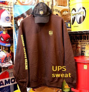 アメリカ運送UPSトレーナー UPSオフィシャル アメリカ雑貨屋 SUNBRIDGE 岩手雑貨屋 矢巾町