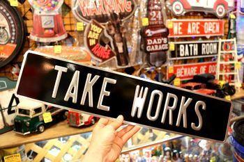 ストリート看板 オーダー看板 カスタムプレート アメリカ雑貨屋 サンブリッヂ サンブリッジ 岩手雑貨屋 アメリカ雑貨通販 矢巾町