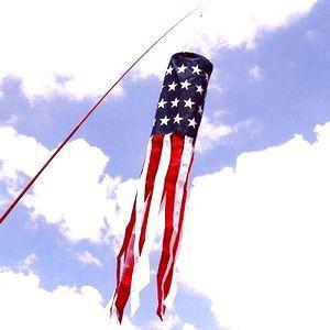 ウインドソック星条旗 USA星条旗 アウトドアフラッグ アメリカ雑貨屋 SUNBRIDGE 岩手雑貨屋 矢巾町