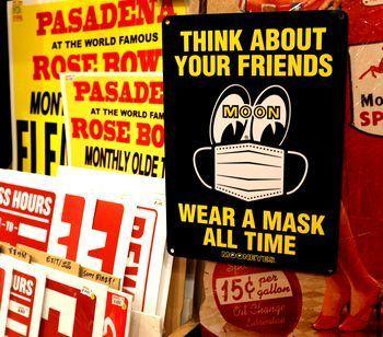 ムーンアイズマスク看板 MOONEYES看板 アメリカ雑貨屋 サンブリッヂ サンブリッジ 岩手雑貨屋 アメリカ雑貨通販 矢巾町