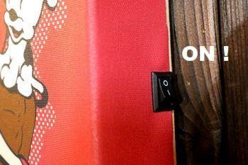 ベティLEDライトウォールアート ベティライト アメリカ雑貨屋 サンブリッヂ サンブリッジ 岩手雑貨屋 アメリカ雑貨通販 矢巾町