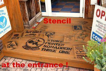 ステンシル サンブリッヂオリジナルステンシルアート アメリカ雑貨屋 SUNBRIDGE 岩手アメリカン雑貨屋 矢巾町