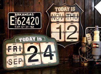 ROUTE66カレンダー ルート66カレンダー アメリカ雑貨屋 アメリカン雑貨 サンブリッヂ 岩手雑貨屋 通販 矢巾町