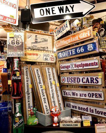 ことわざ看板 アメリカン看板 ロードサイン アメリカ雑貨屋 アメリカン雑貨 サンブリッヂ 岩手雑貨屋 通販 矢巾町