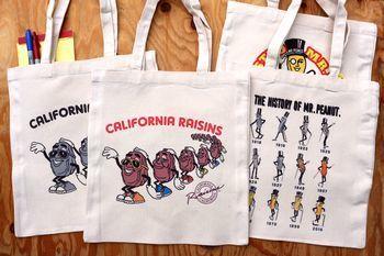 カリフォルニアレーズン バッグ アメリカ雑貨屋 アメリカン雑貨 サンブリッヂ 岩手雑貨屋 通販 矢巾町