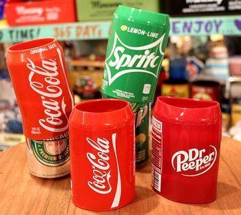 シリコンスリーブ 缶 コーラ ドクターペッパー スプライト アメリカ雑貨屋 アメリカン雑貨 サンブリッヂ 岩手雑貨屋 通販 矢巾町