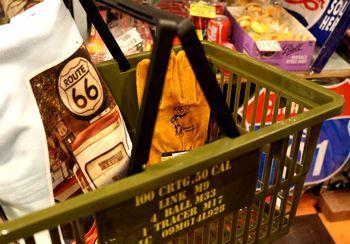 アメリカン カゴ ミリタリーカゴ 買い物カゴ アメリカ雑貨屋 アメリカン雑貨 サンブリッヂ 岩手雑貨屋 通販 矢巾町