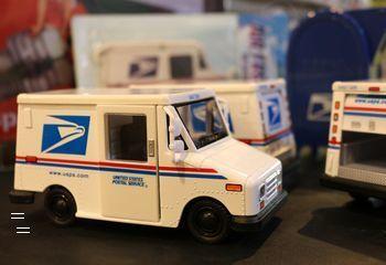 USPS トラック ミニカー アメリカ郵便局 アメリカ雑貨屋 アメリカン雑貨 サンブリッヂ 岩手雑貨屋 通販 矢巾町