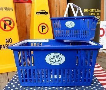 STPカゴ アメリカンバスケット 買い物カゴ アメリカ雑貨屋 SUNBRIDGE 岩手矢巾雑貨