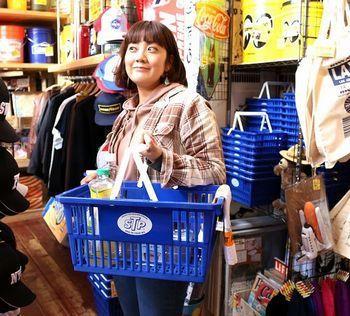 TPカゴ アメリカンバスケット 買い物カゴ アメリカ雑貨屋 SUNBRIDGE 岩手矢巾雑貨