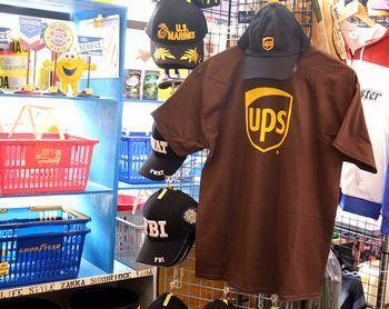 UPS Tシャツ アメリカン バックプリントT  アメリカ雑貨屋 サンブリッヂ SUNBRIDGE 岩手雑貨屋 アメリカ雑貨通販 布マスク販売店