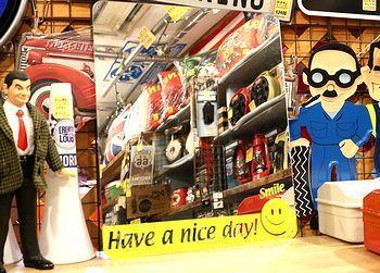 アクリルミラー アメリカンミラー ミラー看板 スマイル アメリカ雑貨屋 サンブリッヂ サンブリッジ 岩手雑貨屋 アメリカ雑貨通販 マスク販売店