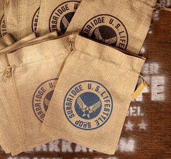 サンブリッヂ巾着 オリジナル ポーチ 巾着 アメリカ雑貨屋 サンブリッヂ サンブリッジ 岩手雑貨屋 アメリカ雑貨通販