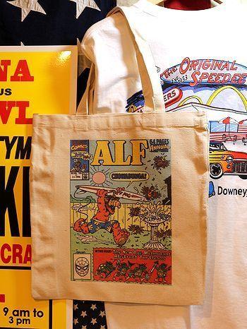 おしゃれエコバッグ トートバッグ アメキャラバッグ アメリカ雑貨屋 サンブリッヂ サンブリッジ 岩手雑貨屋 アメリカ雑貨通販
