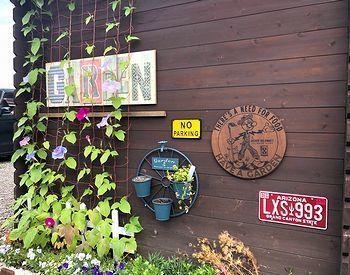 ガーデン看板 SUNBRIDGE アメリカ雑貨屋 サンブリッヂ サンブリッジ 岩手雑貨屋 アメリカ雑貨通販 矢巾町