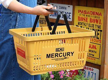 マーキュリー バスケット 新色 カゴ アメリカ雑貨屋 サンブリッヂ サンブリッジ 岩手雑貨屋 アメリカ雑貨通販 マスク販売店
