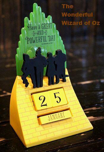 オズの魔法使いカレンダー アメリカ映画カレンダー  アメリカ雑貨屋 SUNBRIDGE 岩手矢巾雑貨