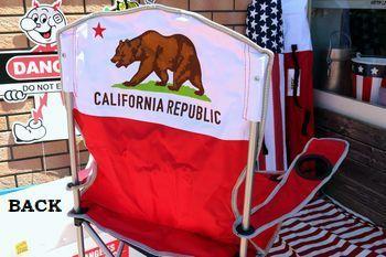 アメリカン折りたたみチェアー 星条旗チェアー カリフォルニアチェアー アウトドアチェアー アメリカ雑貨屋 SUNBRIDGE 岩手矢巾