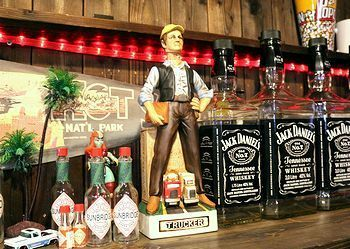 デットストックアメリカ酒ボトル 60年代デキャンタ トラッカーデキャンタ アメリカ雑貨屋 SUNBRIDGE サンブリッヂ 岩手 矢巾町