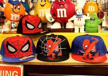 スパイダーマン帽子キッズ 子供用キャップスパイダーマン アメリカ雑貨屋 サンブリッヂ SUNBRIDGE 岩手雑貨屋 アメリカ雑貨通販