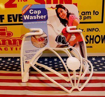 キャップウォッシャー 帽子洗濯  帽子型崩れ防止 アメリカ雑貨屋 サンブリッヂ SUNBRIDGE 岩手雑貨屋 アメリカ雑貨通販 布マスク販売店