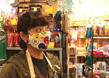 布マスク通販 かわいい布マスク アメリカ雑貨屋 サンブリッヂ SUNBRIDGE 岩手雑貨屋 アメリカ雑貨通販