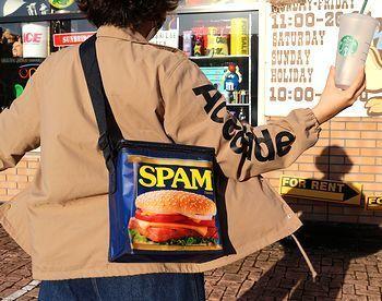 スパムエコバッグ スパムクーラーバッグ 保冷バッグ アメリカ雑貨屋 サンブリッヂ SUNBRIDGE 岩手雑貨屋 アメリカ雑貨通販 マスク販売店