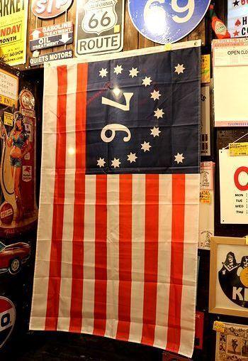 ベニントンフラッグ 76星条旗 アメリカ雑貨屋 サンブリッヂ SUNBRIDGE 岩手雑貨屋 アメリカ雑貨通販 布マスク販売店