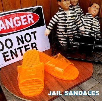 アメリカ雑貨屋サンブリッヂ 刑務所サンダル