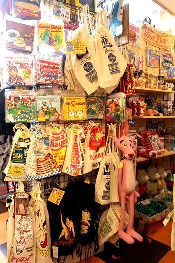 アメキャラ巾着 アメキャラエコバッグ アメリカ雑貨屋 サンブリッヂ サンブリッジ 岩手雑貨屋 アメリカ雑貨通販 マスク販売店