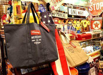 マーキュリーバッグ エコバッグ おしゃれ アメリカ雑貨屋 サンブリッヂ サンブリッジ 岩手雑貨屋 アメリカ雑貨通販