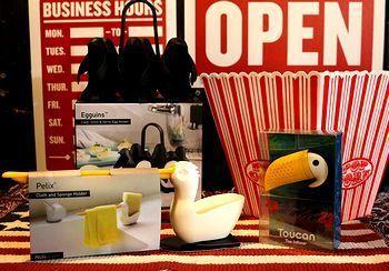 ペンギンエッグホルダー おもしろキッチン雑貨  アメリカ雑貨屋 サンブリッヂ サンブリッジ 岩手雑貨屋 アメリカ雑貨通販 矢巾町