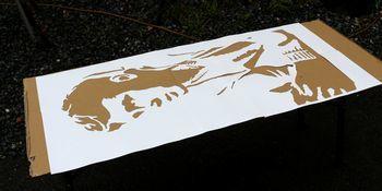 ジェームズディーン ステンシルシート ステンシル看板  アメリカ雑貨屋 サンブリッヂ サンブリッジ 岩手雑貨屋 アメリカ雑貨通販 矢巾町