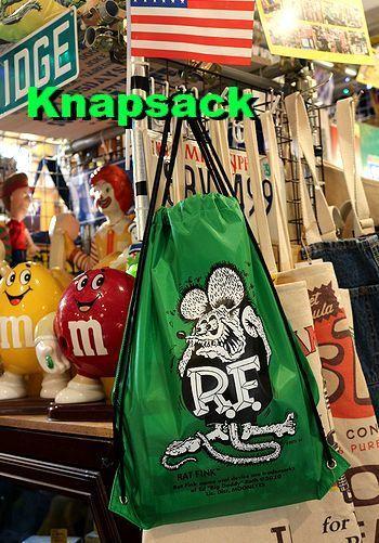 ラットフィンクナップサック RATFINK  アメリカ雑貨屋 サンブリッヂ サンブリッジ 岩手雑貨屋 アメリカ雑貨通販 矢巾町