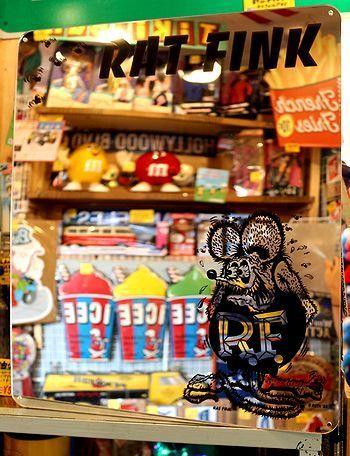ラットフィンクミラー RATFINKミラー アメリカ雑貨屋 サンブリッヂ サンブリッジ 岩手雑貨屋 アメリカ雑貨通販 矢巾町