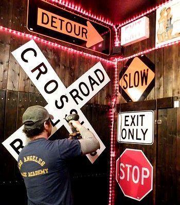 ロードサイン カリフォルニア看板 道路標識 アメリカ雑貨屋 サンブリッヂ サンブリッジ 岩手雑貨屋 アメリカ雑貨通販 矢巾町