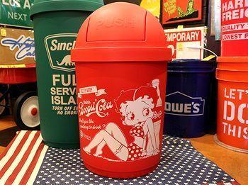 ベティミ箱 シンクレアゴミ箱 アメリカンゴミ箱 アメリカ雑貨屋 サンブリッヂ サンブリッジ 岩手雑貨屋 アメリカ雑貨通販 矢巾町