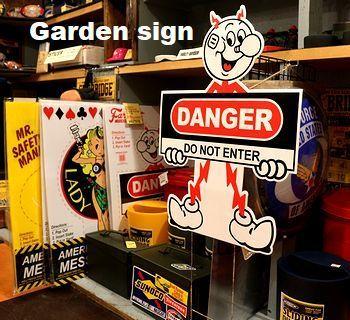 ガーデンサイン レディキロ看板 アメリカ雑貨屋 サンブリッヂ SUNBRIDGE 岩手雑貨屋 アメリカ雑貨通販