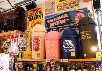 アメリカゴミ箱 ドームゴミ箱45L ミリタリーゴミ箱 アメリカ雑貨屋 サンブリッヂ SUNBRIDGE 岩手雑貨屋 アメリカ雑貨通販